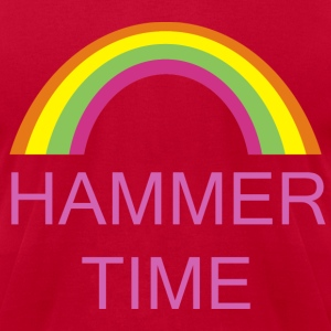 Hammer time - Men's T-Shirt by American Apparel
