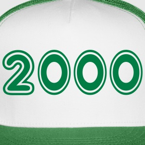 2000, Numbers, Year, Year Of Birth Sportswear - Trucker Cap