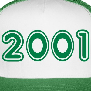 2001, Numbers, Year, Year Of Birth Sportswear - Trucker Cap
