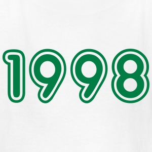 1998, Numbers, Year, Year Of Birth Kids' Shirts - Kids' T-Shirt