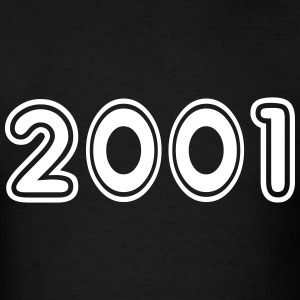 2001, Numbers, Year, Year Of Birth T-Shirts - Men's T-Shirt