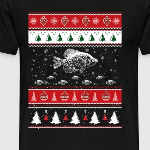 Awesome christmas sweater for crappie love - Men's Premium T-Shirt