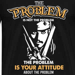 Pirate of caribbean - The problem is not the probl - Men's Premium T-Shirt