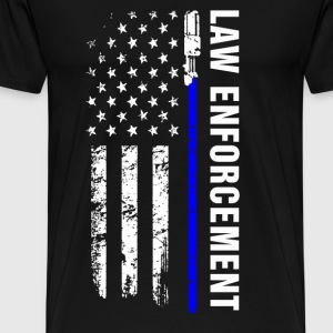 Jedi - The law enforcement t-shirt for american - Men's Premium T-Shirt