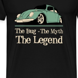 Classic car - The bug the myth the legend t-shir - Men's Premium T-Shirt