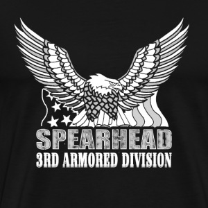 Spearhead The 3rd armored division t-shirt - Men's Premium T-Shirt