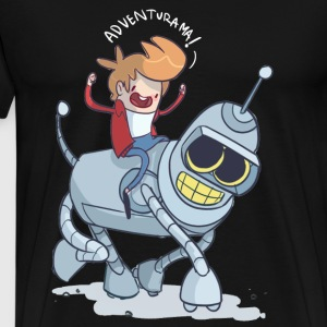 FOTOFUN – Futurama South Park - Men's Premium T-Shirt