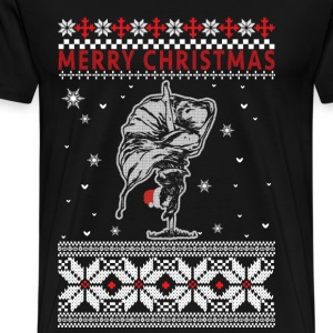 Ballet - Ugly Christmas Sweater - Men's Premium T-Shirt