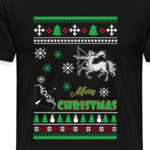 Awesome Christmas Sagittarius sweater - Men's Premium T-Shirt