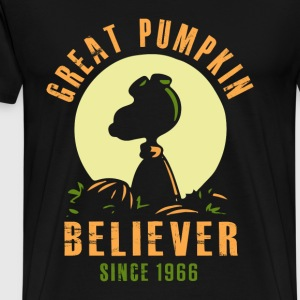 Great Pumpkin - Great Pumpkin Believer since 1966 - Men's Premium T-Shirt