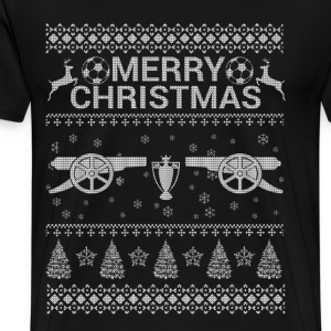 Christmas sweater for Arsenal's fans - Men's Premium T-Shirt
