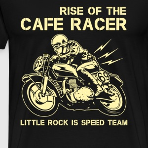 Cafe racer - Rise of the cafe racer t-shirt - Men's Premium T-Shirt