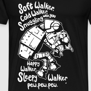 Star wars - Soft walker cold walker t-shirt for f - Men's Premium T-Shirt