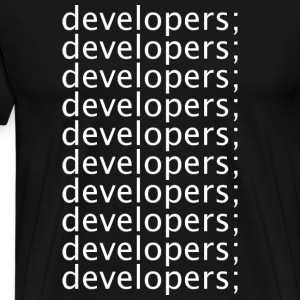 Developers - Men's Premium T-Shirt