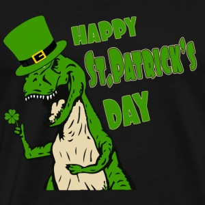St.Patrick's day - Happy dinopatrick's day t-shi - Men's Premium T-Shirt