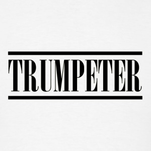trumpeter black - Men's T-Shirt