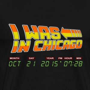 Baseball - I was in chicago oct 21 2015 - Men's Premium T-Shirt