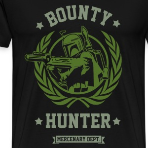 Bounty hunter - Awesome bounty hunter t-shirt - Men's Premium T-Shirt