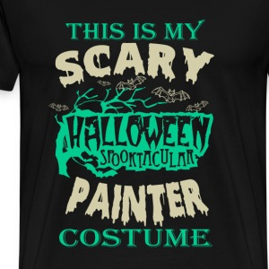 Painter - This is my scary halloween costume tee - Men's Premium T-Shirt
