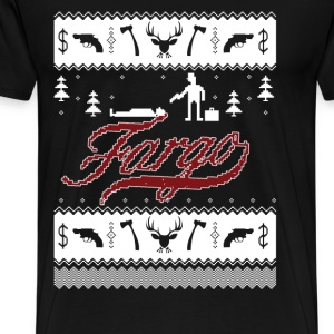 Fargo - Awesome christmas fargo t-shirt for fans - Men's Premium T-Shirt
