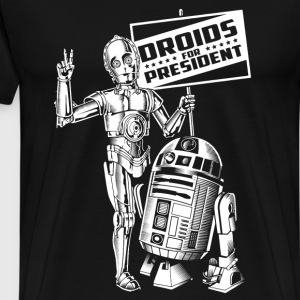 Droids - Awesome star war t-shirt for fans - Men's Premium T-Shirt