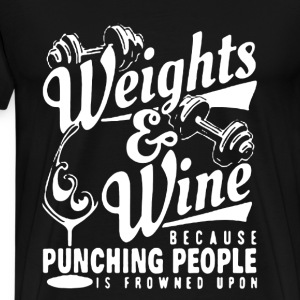 Weights  - Men's Premium T-Shirt