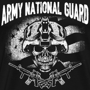 Army national guard - t-shirt for guards support - Men's Premium T-Shirt