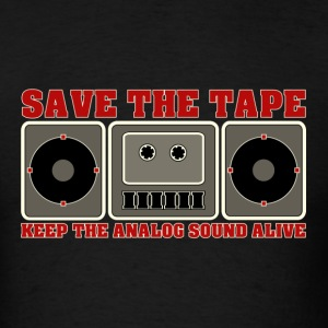 save the tape - Men's T-Shirt