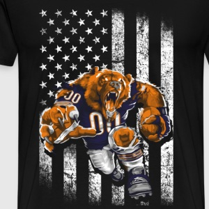 The bears - Awesome t-shirt for american fans - Men's Premium T-Shirt