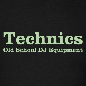 technics green - Men's T-Shirt