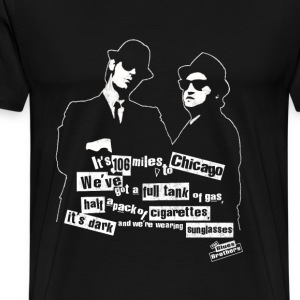 The Blues Brothers - We've got a full tank of gas - Men's Premium T-Shirt