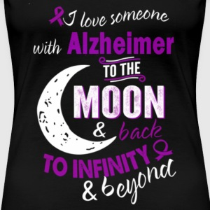 Alzheimer - I love someone with Alzheimer t-shir - Women's Premium T-Shirt