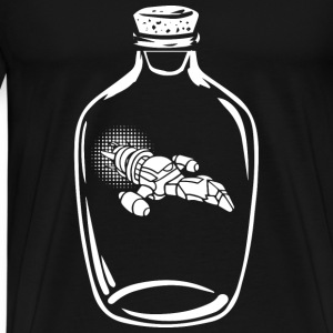 Serenity - Awesome serenity bottle t-shirt for f - Men's Premium T-Shirt