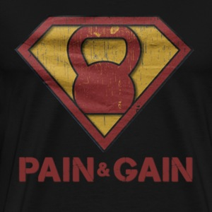 Muscle - No pain no gain awesome t-shirt - Men's Premium T-Shirt