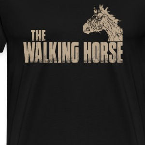The walking horse - Funny t-shirt - Men's Premium T-Shirt