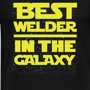 Welder - Best welder in the Galaxy - Men's Premium T-Shirt