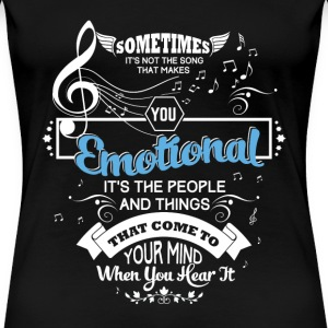 Music lover - The people and things come to mind - Women's Premium T-Shirt