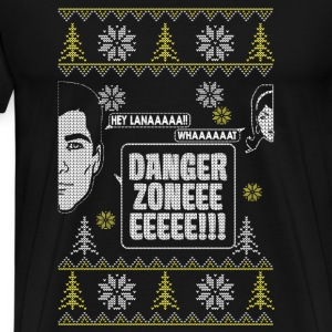 Danger zone with girlfriend - Christmas gift - Men's Premium T-Shirt