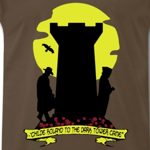 Childe Roland to the Dark Tower Came fan - Men's Premium T-Shirt