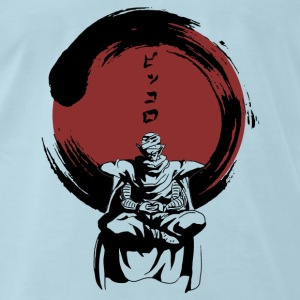 Zen with Piccolo - Ginger Beer - Men's Premium T-Shirt
