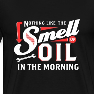 Technician - Nothing like the smell of oil - Men's Premium T-Shirt
