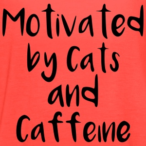 Cats and Caffeine Tanks - Women's Flowy Tank Top by Bella