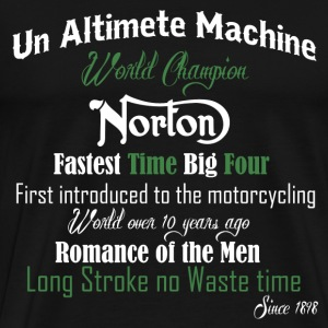 Norton bikers - Fastest time big four - Men's Premium T-Shirt