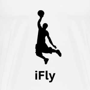 iFly Basketball - Men's Premium T-Shirt