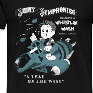 Whistlin' Wash Firefly/Steamboat Willy mashup - Men's Premium T-Shirt