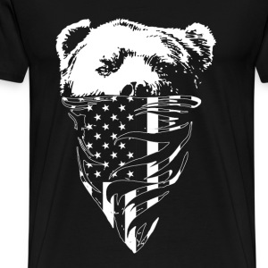 California republic bear t-shirt - Men's Premium T-Shirt