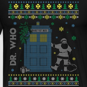 Christmas sweater for Doctor Who fan - Men's Premium T-Shirt