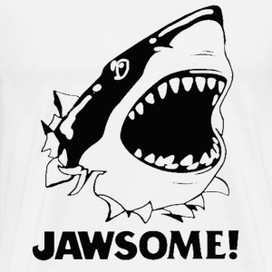 T-shirt for Shark lover - Jawsome - Men's Premium T-Shirt