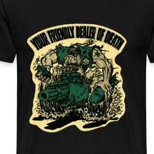 US Marine Corps - Your friendly dealer of death - Men's Premium T-Shirt