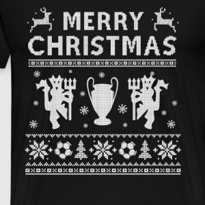 Premier League - Christmas league sweater for fans - Men's Premium T-Shirt